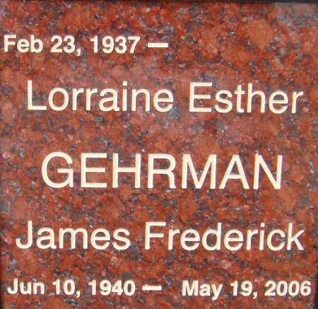 GEHRMAN, JAMES FREDERICK - Pima County, Arizona | JAMES FREDERICK GEHRMAN - Arizona Gravestone Photos