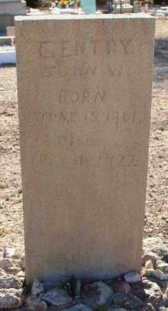 GENTRY, JOHN W. - Pima County, Arizona | JOHN W. GENTRY - Arizona Gravestone Photos