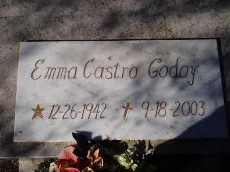 GODOY, EMMA CASTRO - Pima County, Arizona | EMMA CASTRO GODOY - Arizona Gravestone Photos