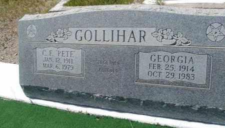 GOLLIHAR, GEORGIA - Pima County, Arizona | GEORGIA GOLLIHAR - Arizona Gravestone Photos