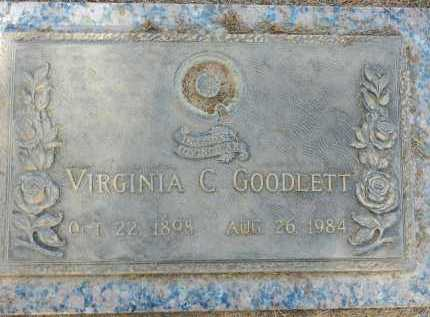 GOODLETT, VIRGINIA C. - Pima County, Arizona | VIRGINIA C. GOODLETT - Arizona Gravestone Photos