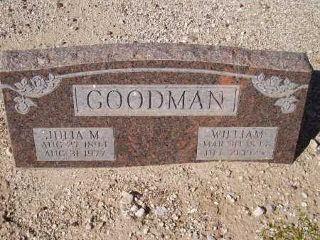 GOODMAN, JULIA M. - Pima County, Arizona | JULIA M. GOODMAN - Arizona Gravestone Photos
