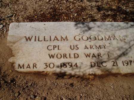 GOODMAN, WILLIAM - Pima County, Arizona   WILLIAM GOODMAN - Arizona Gravestone Photos