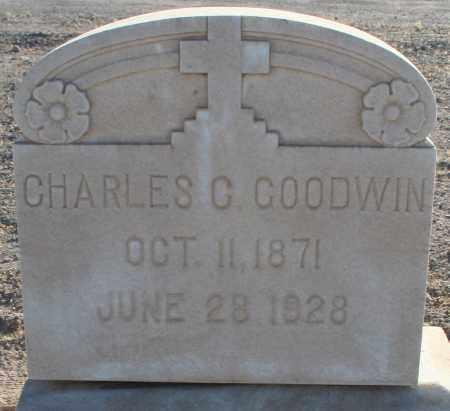 GOODWIN, CHARLES C. - Pima County, Arizona | CHARLES C. GOODWIN - Arizona Gravestone Photos