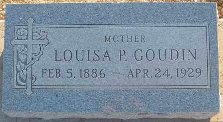 PRATT GOUDIN, LOUISA - Pima County, Arizona | LOUISA PRATT GOUDIN - Arizona Gravestone Photos