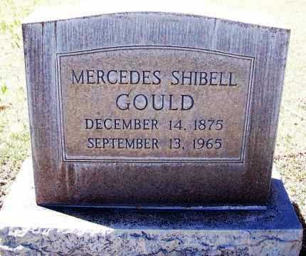 SHIBELL GOULD, MERCEDES - Pima County, Arizona | MERCEDES SHIBELL GOULD - Arizona Gravestone Photos