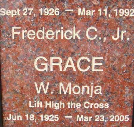 GRACE, W. MONJA - Pima County, Arizona | W. MONJA GRACE - Arizona Gravestone Photos