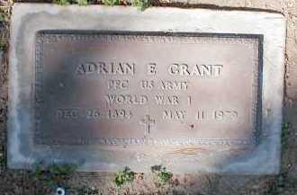 GRANT, ADRIAN E. - Pima County, Arizona | ADRIAN E. GRANT - Arizona Gravestone Photos