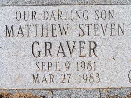 GRAVER, MATTHEW STEVEN - Pima County, Arizona | MATTHEW STEVEN GRAVER - Arizona Gravestone Photos