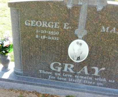 GRAY, GEORGE E. - Pima County, Arizona | GEORGE E. GRAY - Arizona Gravestone Photos