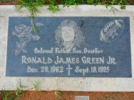 GREEN JR., RONALD JAMES - Pima County, Arizona | RONALD JAMES GREEN JR. - Arizona Gravestone Photos