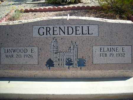GRENDELL, ELAINE E. - Pima County, Arizona | ELAINE E. GRENDELL - Arizona Gravestone Photos