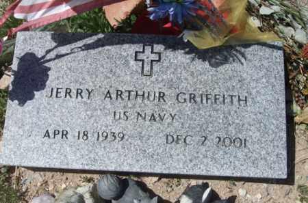 GRIFFITH, JERRY ARTHUR - Pima County, Arizona   JERRY ARTHUR GRIFFITH - Arizona Gravestone Photos