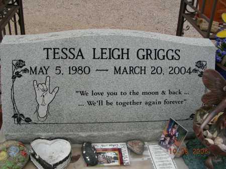 GRIGGS, TESSA LEIGH - Pima County, Arizona   TESSA LEIGH GRIGGS - Arizona Gravestone Photos