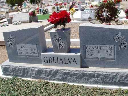 GRIJALVA, CONSUELO M. - Pima County, Arizona   CONSUELO M. GRIJALVA - Arizona Gravestone Photos