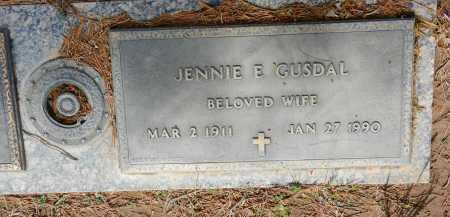 GUSDAL, JENNIE E. - Pima County, Arizona | JENNIE E. GUSDAL - Arizona Gravestone Photos