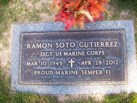 GUTIERREZ, RAMON SOTO - Pima County, Arizona | RAMON SOTO GUTIERREZ - Arizona Gravestone Photos