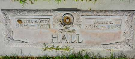 "HALL, WALTER H.  ""BUD"" - Pima County, Arizona | WALTER H.  ""BUD"" HALL - Arizona Gravestone Photos"