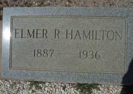HAMILTON, ELMER R. - Pima County, Arizona | ELMER R. HAMILTON - Arizona Gravestone Photos