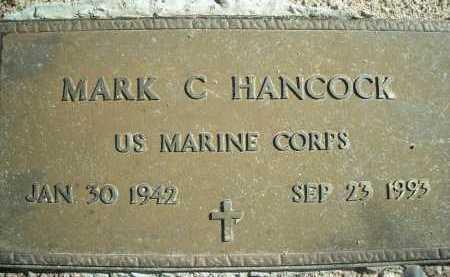 HANCOCK, MARK C. - Pima County, Arizona | MARK C. HANCOCK - Arizona Gravestone Photos