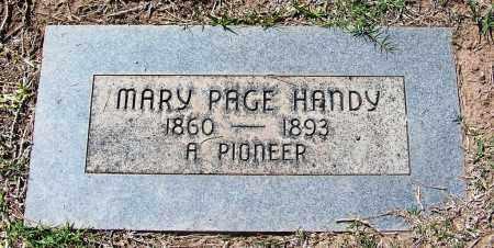 HANDY, MARY - Pima County, Arizona | MARY HANDY - Arizona Gravestone Photos