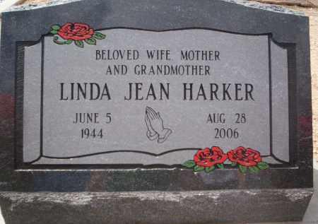 HARKER, LINDA JEAN - Pima County, Arizona   LINDA JEAN HARKER - Arizona Gravestone Photos