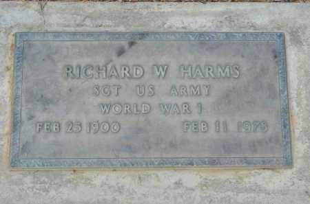 HARMS, RICHARD W. - Pima County, Arizona | RICHARD W. HARMS - Arizona Gravestone Photos