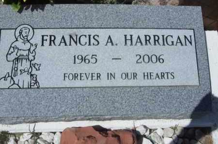 HARRIGAN, FRANCIS A. - Pima County, Arizona | FRANCIS A. HARRIGAN - Arizona Gravestone Photos