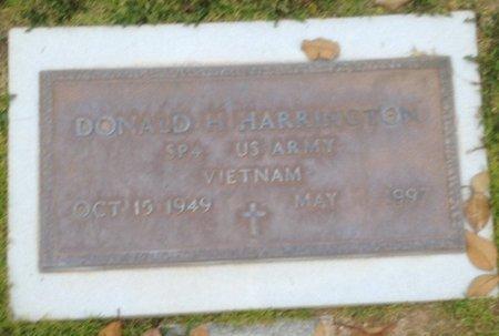 HARRINGTON, DONALD H - Pima County, Arizona | DONALD H HARRINGTON - Arizona Gravestone Photos