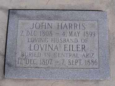 EILER HARRIS, LOVINA - Pima County, Arizona | LOVINA EILER HARRIS - Arizona Gravestone Photos