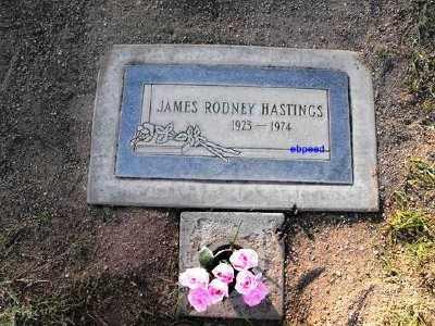 HASTINGS, DR. JAMES RODNEY - Pima County, Arizona | DR. JAMES RODNEY HASTINGS - Arizona Gravestone Photos