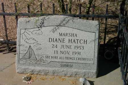 HATCH, MARSHA DIANE - Pima County, Arizona | MARSHA DIANE HATCH - Arizona Gravestone Photos