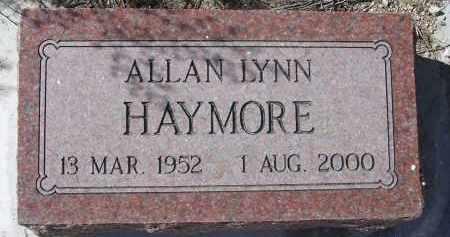 HAYMORE, ALLAN LYNN - Pima County, Arizona | ALLAN LYNN HAYMORE - Arizona Gravestone Photos