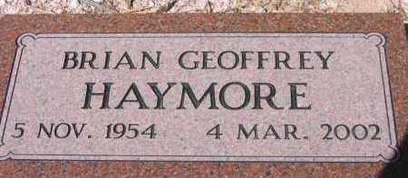 HAYMORE, BRIAN GEOFFREY - Pima County, Arizona | BRIAN GEOFFREY HAYMORE - Arizona Gravestone Photos