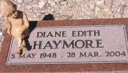 HAYMORE, DIANE EDITH - Pima County, Arizona | DIANE EDITH HAYMORE - Arizona Gravestone Photos