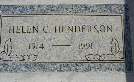 HENDERSON, HELEN C. - Pima County, Arizona | HELEN C. HENDERSON - Arizona Gravestone Photos