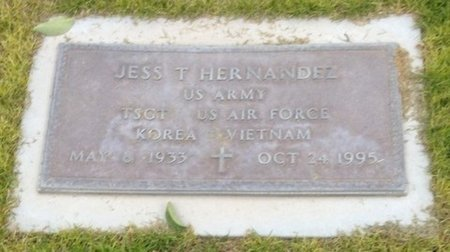 HERNANDEZ, JESS T. - Pima County, Arizona | JESS T. HERNANDEZ - Arizona Gravestone Photos