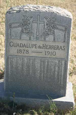 HERRERAS, GUADALUPE - Pima County, Arizona | GUADALUPE HERRERAS - Arizona Gravestone Photos