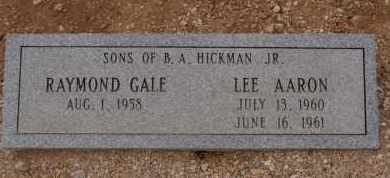 HICKMAN, RAYMOND GALE - Pima County, Arizona | RAYMOND GALE HICKMAN - Arizona Gravestone Photos