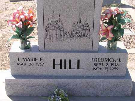 HILL, FREDRICK J. - Pima County, Arizona | FREDRICK J. HILL - Arizona Gravestone Photos