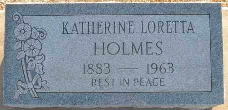 HOLMES, KATHERINE LORETTA - Pima County, Arizona | KATHERINE LORETTA HOLMES - Arizona Gravestone Photos