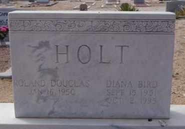 HOLT, DIANA - Pima County, Arizona | DIANA HOLT - Arizona Gravestone Photos