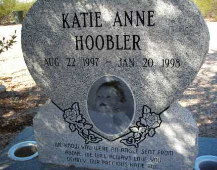 HOOBLER, KATIE ANNE - Pima County, Arizona | KATIE ANNE HOOBLER - Arizona Gravestone Photos