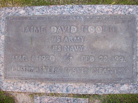 HOOPER, JAIME DAVID - Pima County, Arizona | JAIME DAVID HOOPER - Arizona Gravestone Photos
