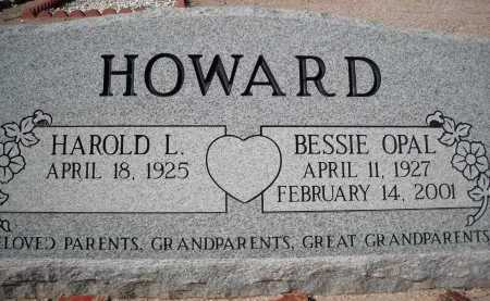 HOWARD, BESSIE OPAL - Pima County, Arizona | BESSIE OPAL HOWARD - Arizona Gravestone Photos