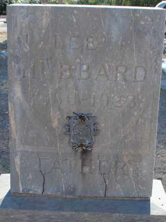 HUBBARD, LEE J. - Pima County, Arizona | LEE J. HUBBARD - Arizona Gravestone Photos
