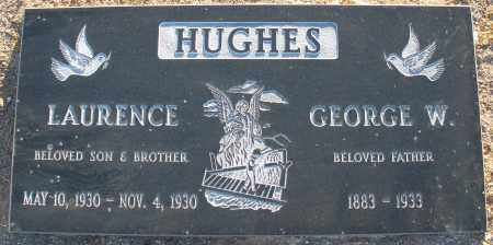 HUGHES, GEORGE W. - Pima County, Arizona | GEORGE W. HUGHES - Arizona Gravestone Photos