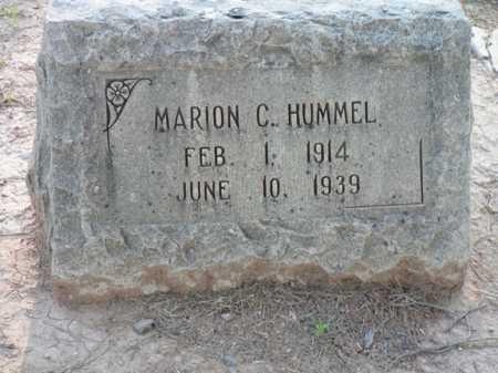 CHRISTISON HUMMEL, MARION - Pima County, Arizona | MARION CHRISTISON HUMMEL - Arizona Gravestone Photos