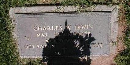 IRWIN, CHARLES W. - Pima County, Arizona | CHARLES W. IRWIN - Arizona Gravestone Photos