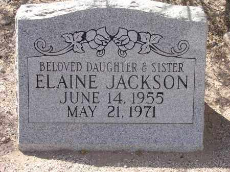 JACKSON, ELAINE - Pima County, Arizona | ELAINE JACKSON - Arizona Gravestone Photos